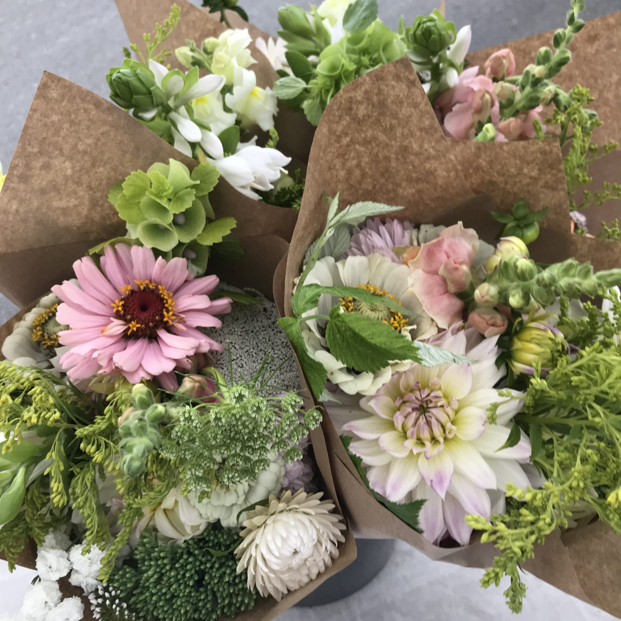 Flower Club bouquets