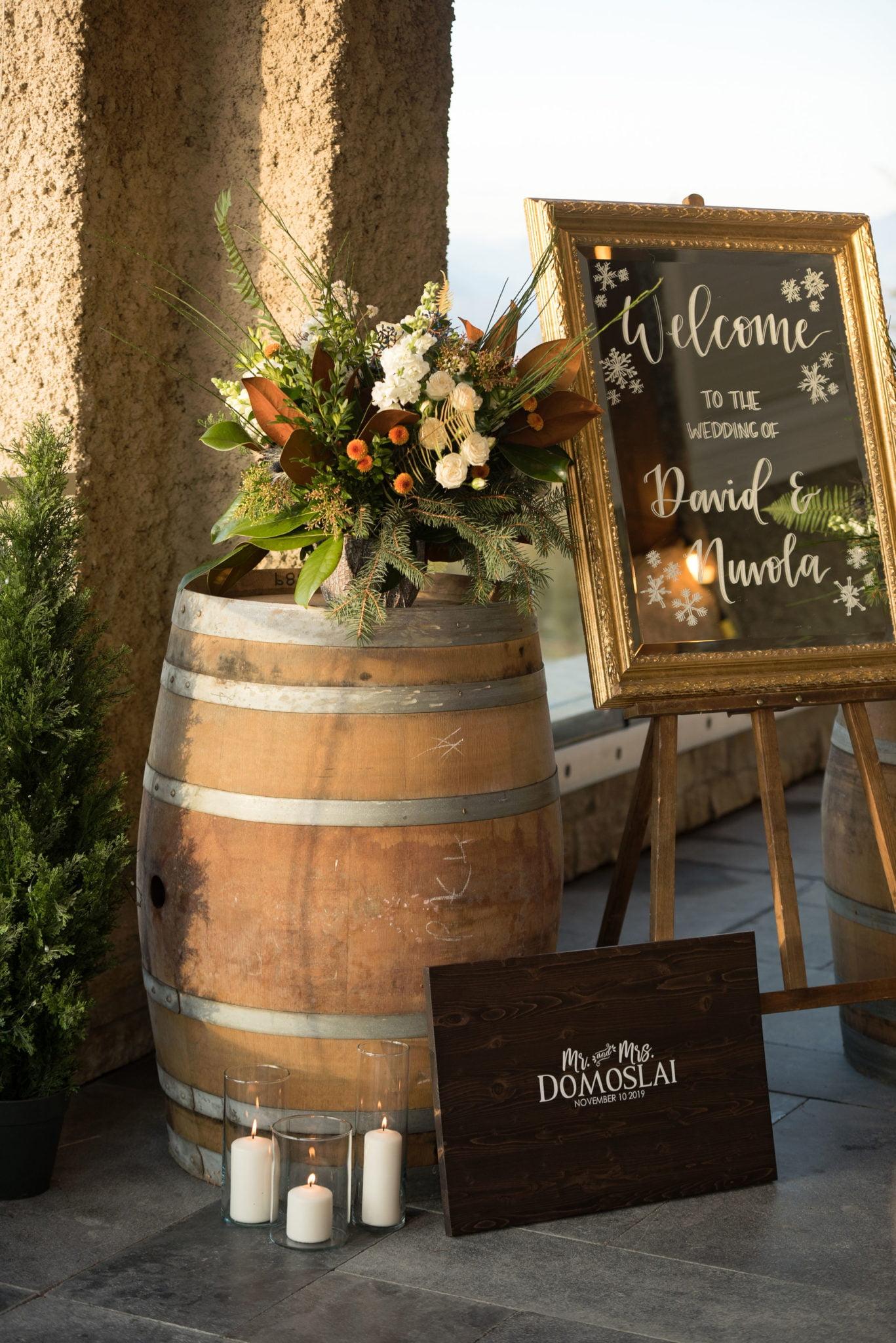 Reception Table Bouquet