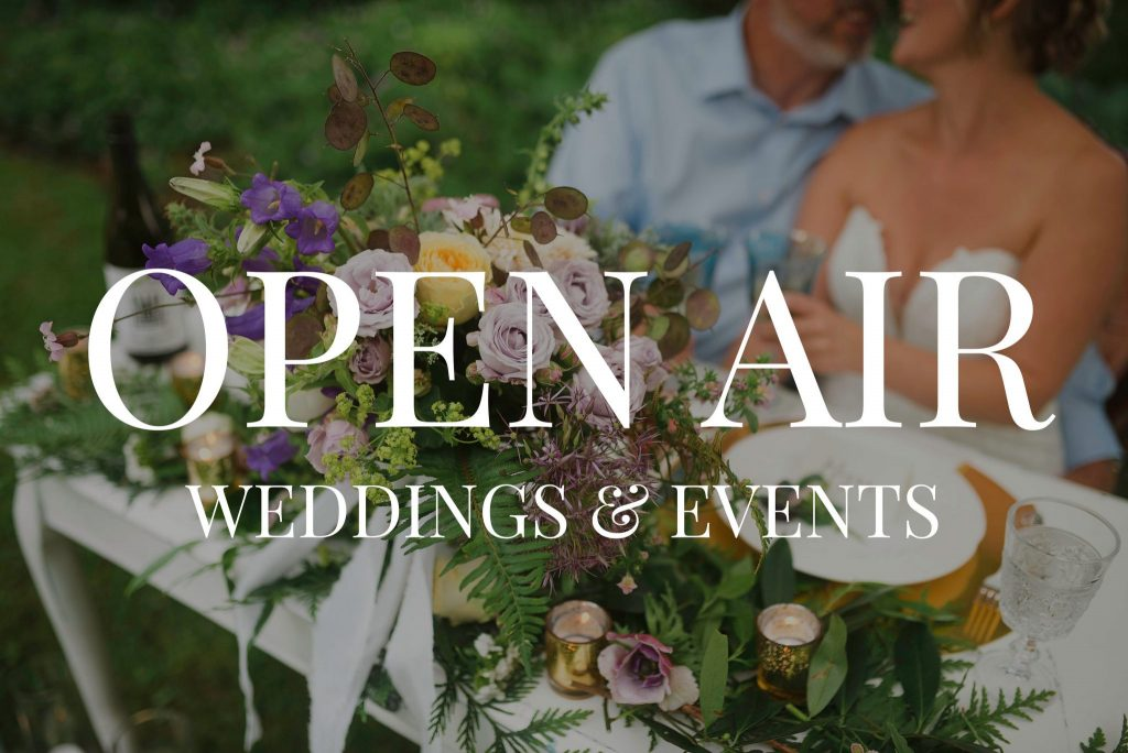 Open Air Weddings